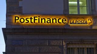 Bundesrat will Postfinance von der Leine lassen