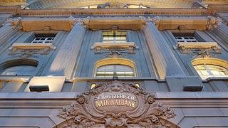 Nationalbank behält Negativzins bei