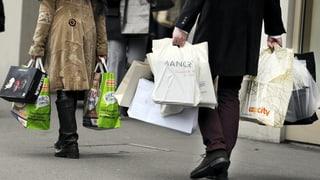 Dank Konsum: Schweizer Wirtschaft wächst schneller