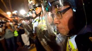 Hongkongs Verwaltungschef will härter durchgreifen