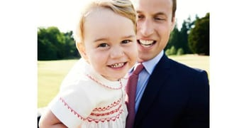 Prinz Cheese: Hier grinst Geburtstagskind George