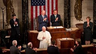 Papst ermahnt US-Kongress zu mehr Menschlichkeit