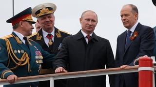 Putin provoziert mit Besuch auf der Krim
