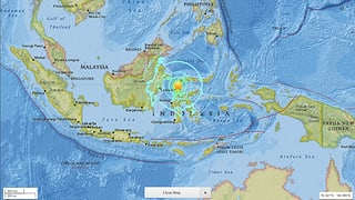 Indonesia: terratrembel da fermezza 7,5