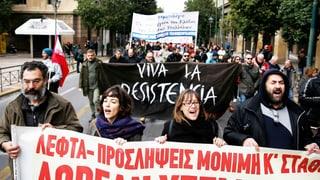 Griechen streiken – wegen Einschränkung des Streikrechts