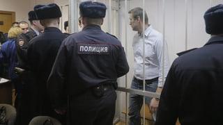 Nawalny-Urteil: «Kleine Keule» für den Kremlkritiker