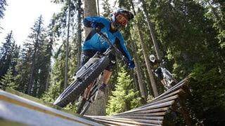 A Ftan duai dar in «Bike Skillpark»