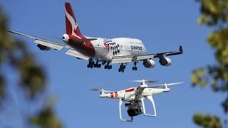 Sind Drohnen eine Gefahr für die Luftfahrt?