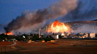 «Angriff an allen Fronten» auf Kobane