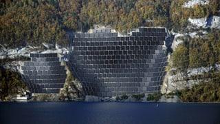 Grösste Hürde für Solarkraftwerk am Walensee bleibt