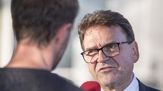 Regierungsrat Beat Villiger nimmt Wahl an