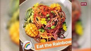"""food&stories"" - salata da zoodles (Artitgel cuntegn video)"