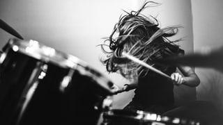 Schlagzeuger sind nicht die Hellsten, aber die Geilsten