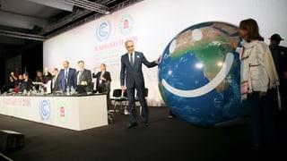 UNO-Klimakonferenz: Schweiz hatte höhere Erwartungen