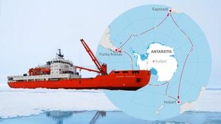 «ACE» – die grosse Expedition in die Antarktis