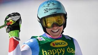 Holdener daventa terza en l'emprim slalom