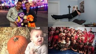 Promi-Tweets der Woche: Süsses, Spukendes und Sportliches