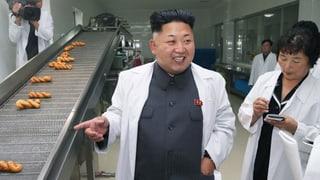 Kim Jong-un mit gebrochenen Füssen