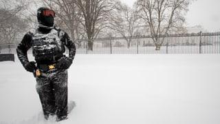 Heftiger Schneesturm an der US-Ostküste