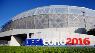 Die Stadien der Euro 2016