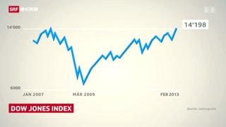 Dow Jones auf Fünfjahreshoch
