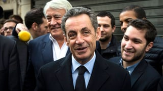 Nicolas Sarkozy ist zurück