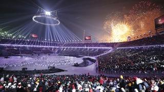 Olympische Winterspiele sind eröffnet