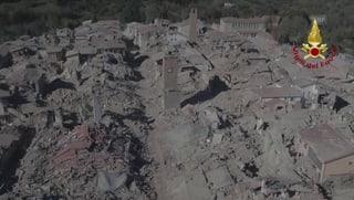Drohnenvideo zeigt Ausmass der Zerstörung