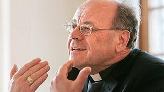 Vitus Huonder ist nicht mehr Bischof von Chur
