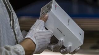 Schweizer Telekom-Firmen machen sich wenig Sorgen wegen Sperre von Huawei