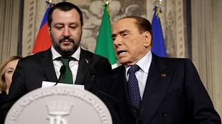 Verfahrene Regierungsgespräche in Italien