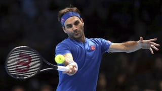 Out per Roger Federer