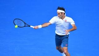 Federer stürmt in den Melbourne-Achtelfinal (Artikel enthält Video)