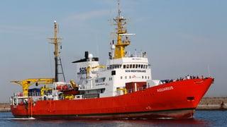 Malta lässt «Aquarius» anlegen