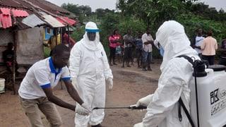 Progress en il cumbat cunter Ebola