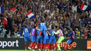 Griezmann sajetta la Frantscha en il final