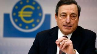 EZB-Chef sieht Licht am Ende des Euro-Tunnels
