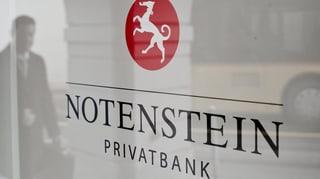 Bancas privatas Notenstein e La Roche fusiuneschan