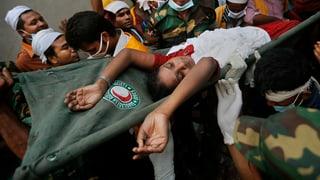 Bangladesch: Die Retter graben weiter