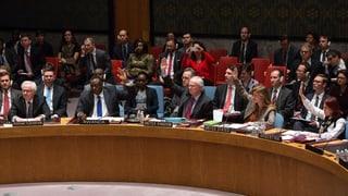 Russland verhindert UNO-Resolution zur Krim-Krise
