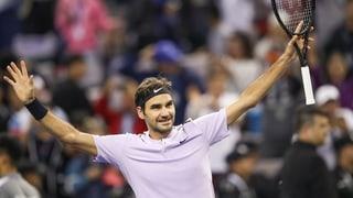 Federer macht Schanghai-Traumfinal perfekt
