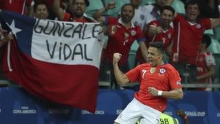 Titelverteidiger Chile stürmt in den Viertelfinal