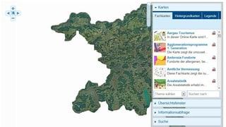 Der Kanton Aargau präsentiert seine Geodaten neu