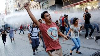 Gewaltsame Proteste in Istanbul