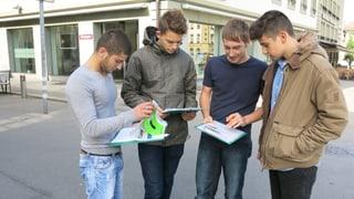 Abfallunterricht für Mittelschüler im Kanton Bern