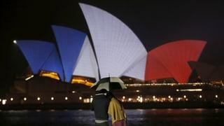 Reaktionen auf den Terror von Paris: «Wir weinen mit Ihnen»