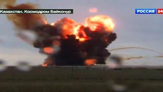 Russische Rakete stürzt ab – giftiger Treibstoff tritt aus
