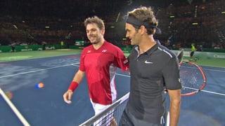 Federer und Wawrinka bieten Show beim «Match for Africa 2»