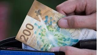 Bürgerliche Parteien lassen sich nicht ins Portemonnaie blicken (Artikel enthält Audio)