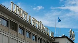Lindt & Sprüngli augmenta ses gudogn per 5,7%